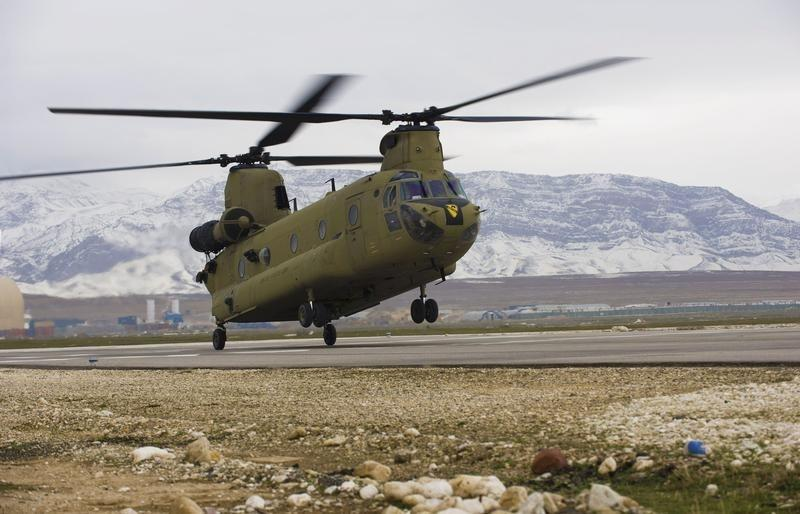 Boeing eyes 150 more CH-47 helicopter sales through 2022