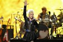 Singer Pink performs during second day of the 2012 iHeartRadio Music Festival at the MGM Grand Garden Arena in Las Vegas