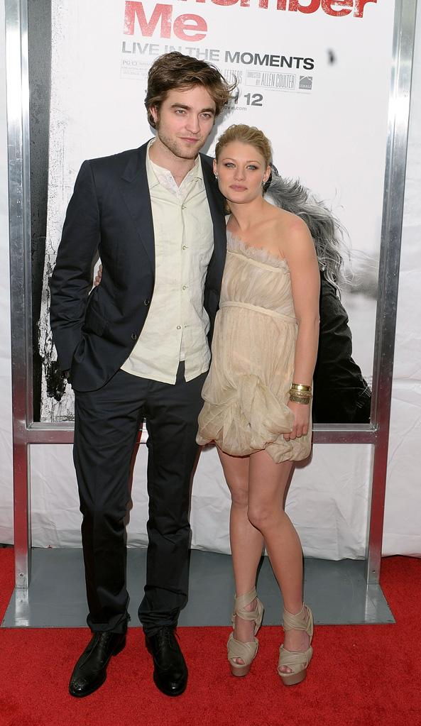 Remember Me NY Premiere 2010 Robert Pattinson Emilie de Ravin