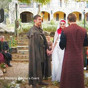Couple's 'Game of Thrones'-Themed Wedding