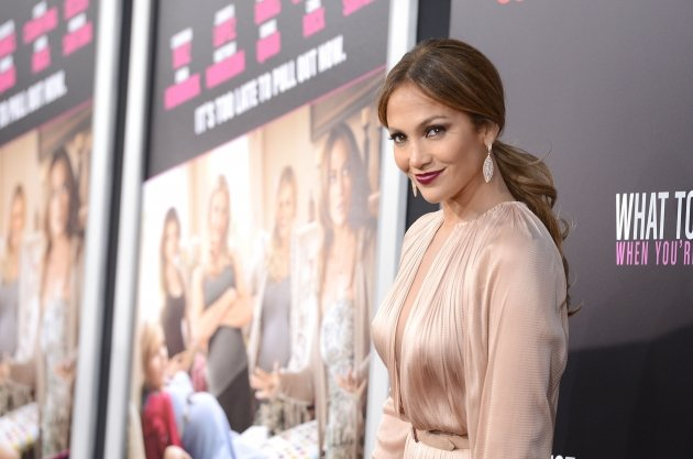 Jennifer Lopez attends the Los Angeles premiere of 'What To Expect When You're Expecting' at Grauman's Chinese Theatre, Los Angeles, on May 14, 2012 -- Getty Images
