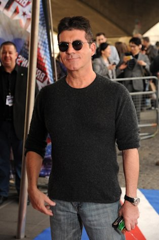 Simon Cowell arrives for a taping of Britain&#39;s Got Talent at BFI Southbank in London on March 22, 2012 -- Getty Images