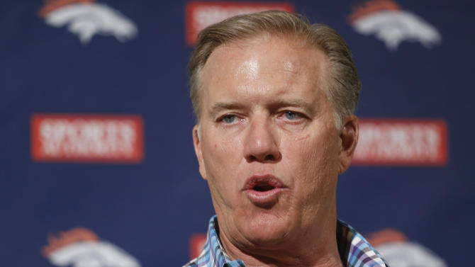 Elway finds himself in enviable position again