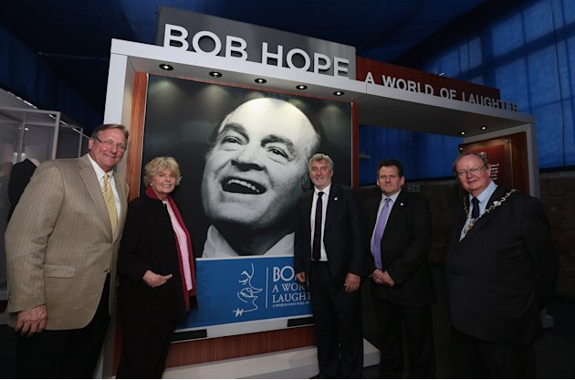 Launch of Bob Hope - A World of Laughter Exhibition
