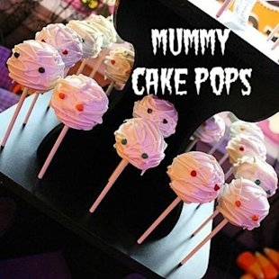 Boo! Scare your guests with this sweet Halloween treat.