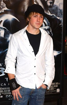 Kyle Searles at the Hollywood premiere of New Line Cinema's Blade: Trinity