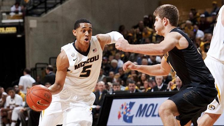 No. 25 Missouri holds off Long Beach 69-59