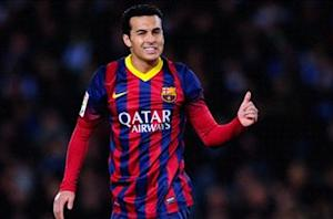 Pedro: 'Unforgivable' if Barcelona does not win La Liga now