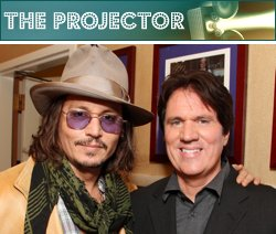 Everybody looks kinda ordinary standing next to Johnny Depp. Eric Charbonneau/WireImage