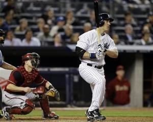 Hafner pinch-hit HR in 8th, Yankees beat Arizona