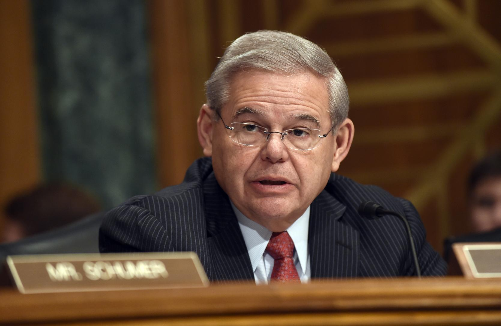 N.J. Sen. Bob Menendez to face criminal corruption charges: reports