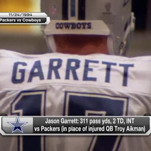 Garrett fills in for Aikman on Thanksgiving