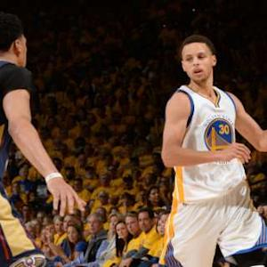 Curry and Davis Duel It Out in Game 1