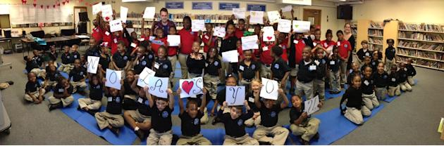 New Orleans 4th Graders Send Letters of Encouragement to Hurricane Sandy Victims