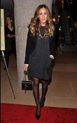 1. Sarah Jessica Parker's Blazer & Stockings