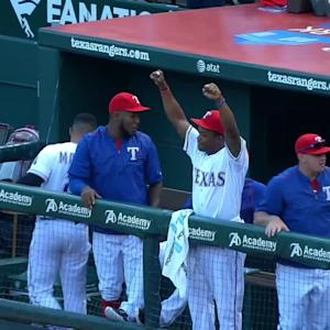 Hamilton's first homer of 2015