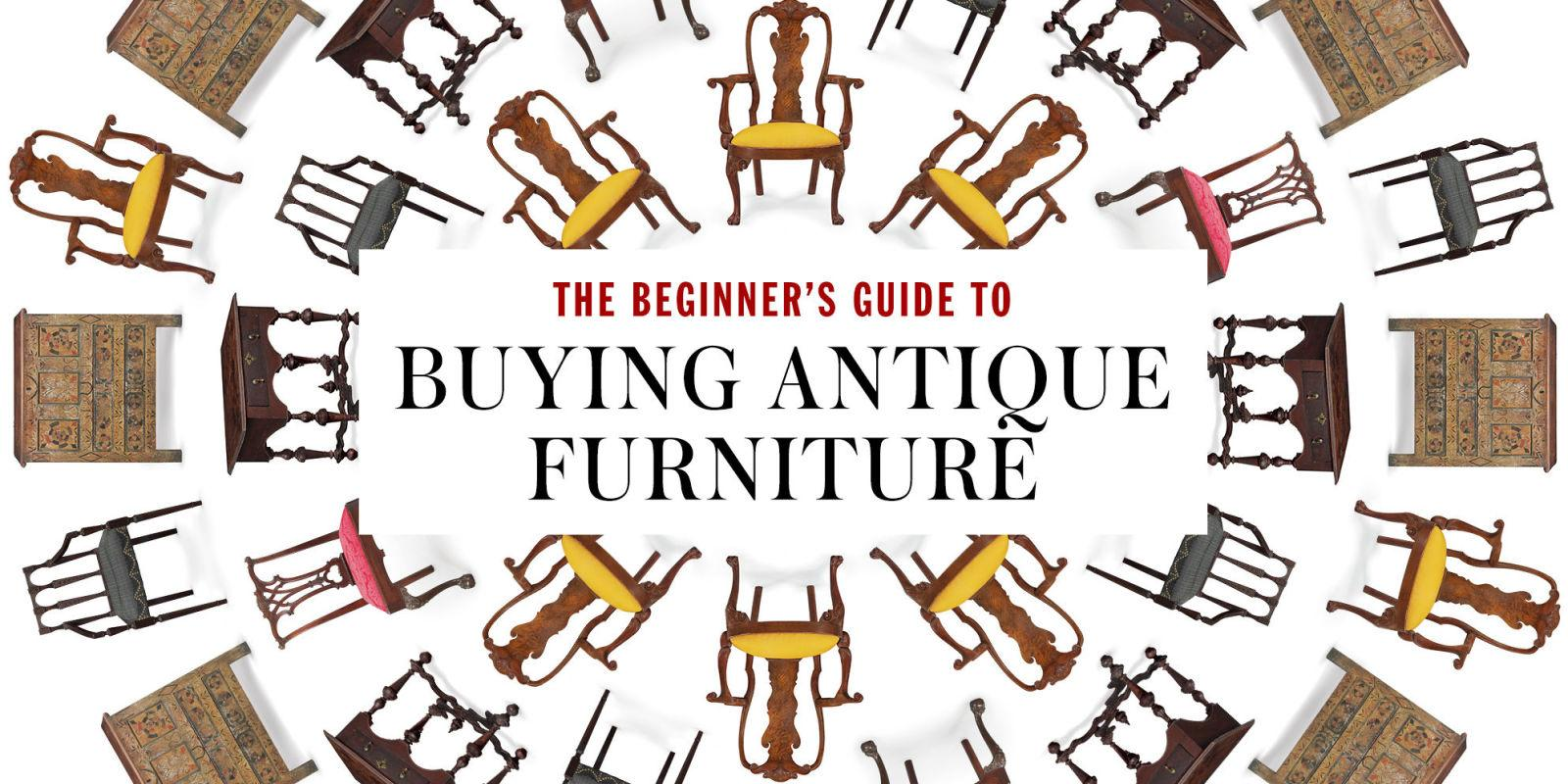 The Beginner's Guide to Buying Antique Furniture