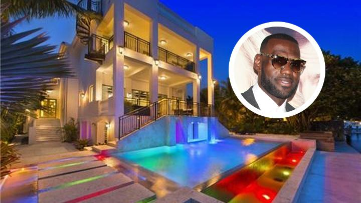 Basketballer LeBron James Gets $13.4 Million For Coconut Grove Contemporary