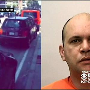 Uber Driver Arrested In Road Rage Incident With Cyclist At Fisherman's Wharf In San Francisco