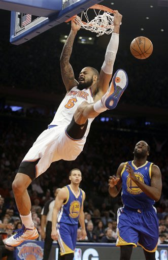 Knicks overcome Curry's 54 to beat Warriors