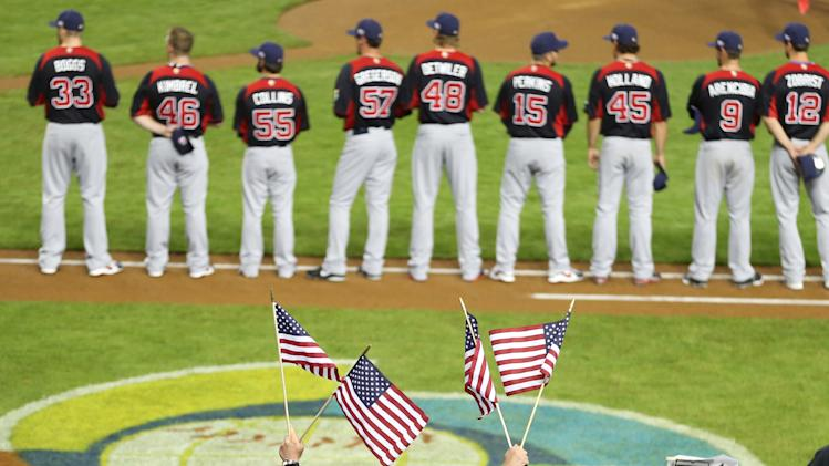 Baseball: World Baseball Classic-United States vs Italy