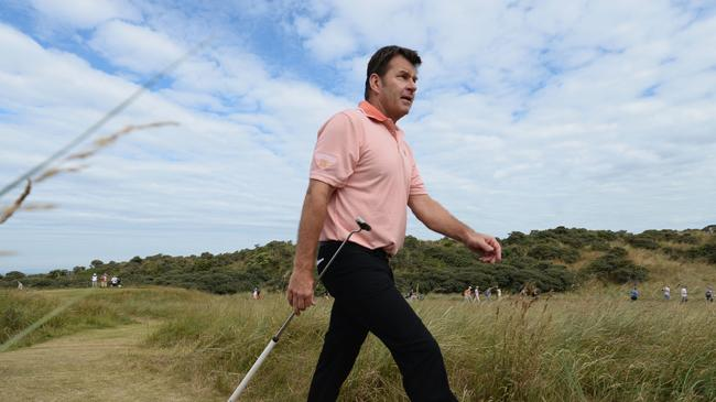 Nick Faldo takes trip down memory lane at Muirfield