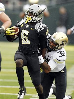 Second-ranked Oregon dispatches Colorado 70-14
