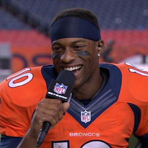 Denver Broncos wide receiver Emmanuel Sanders: 'Tonight was just my night'