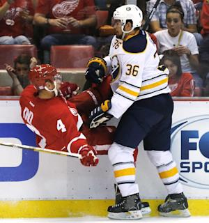 Sabres RW Kaleta appeals 10-game suspension