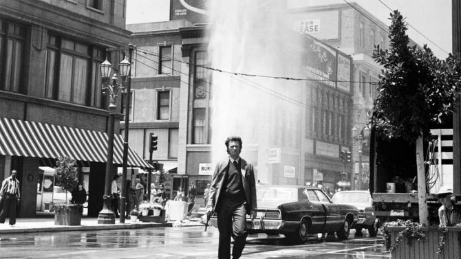 "This image released by Warner Bros. shows Clint Eastwood in a scene from the move ""Dirty Harry."" Memorable movies, including ""Breakfast at Tiffany's,"" ""Dirty Harry,"" ""A League of Their Own"" and ""The Matrix"" are being preserved for their enduring significance in American culture as The Library of Congress announces, Wednesday, Dec. 19, 2012, the slate of films it will induct into the National Film Registry. (AP Photo/Warner Bros.) NO SALES"