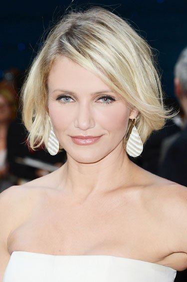 Cameron Diaz&amp;#39;s Beachy Bob