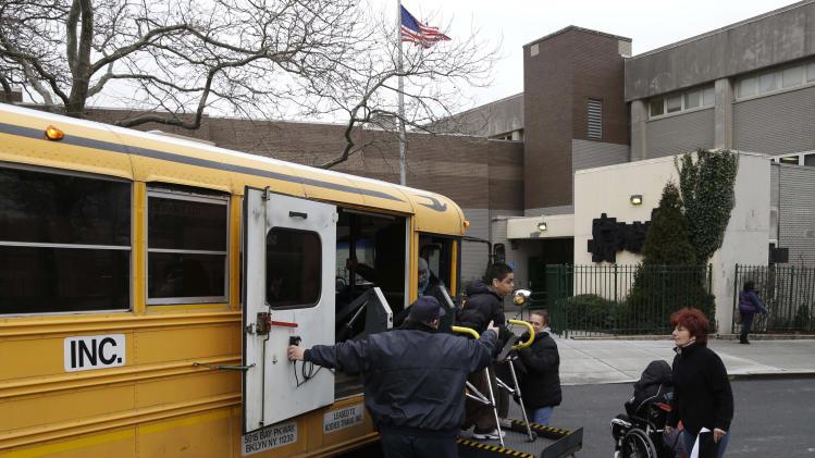 NYC school bus drivers, matrons go on strike