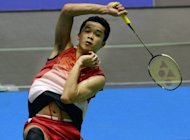 Taufik Hidayat of Indonesia during his Japan Open men's singles second round match against Akira Koga of Japan. Hidayat has revealed that he will retire next year, as he reached the quarter-finals at the Japan Open