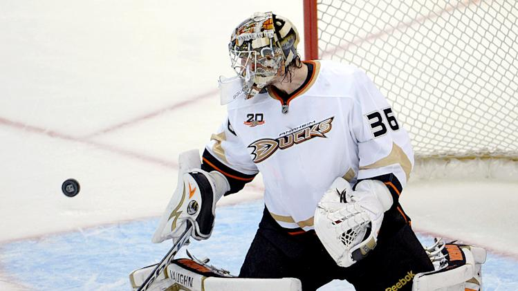 NHL: Stanley Cup Playoffs-Anaheim Ducks at Los Angeles Kings