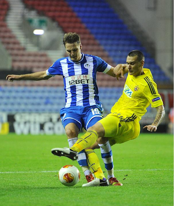 Soccer - UEFA Europa League - Group D - Wigan Athletic v NK Maribor - DW Stadium
