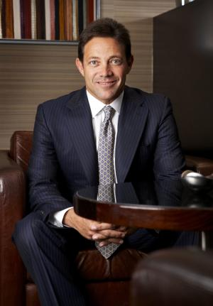 In this undated photo provided by jordanbelfort.com, Jordan Belfort is shown. Although he insists that he's given up lying and despite a recent fuss over his finances, isn't hiding his money, the notorious stock swindler may never have stopped hustling. Federal prosecutors in the Brooklyn borough of New York have questioned whether Belfort has withheld book sale proceeds and other income he should be turning over as restitution for a pervious securities fraud and money laundering conviction. (AP Photo/jordanbelfort.com)