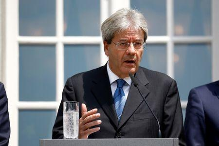 Italy president set to ask Foreign Minister Gentiloni to form govt