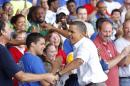 Obama promoting economic gains as elections near