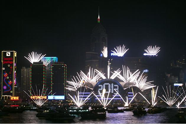 New Year 2013 Hong Kong