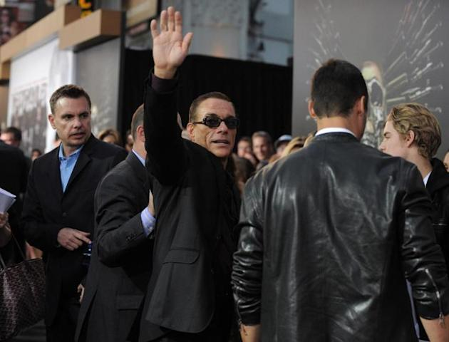 Los Angeles, la premiere di 'The Expendables 2'