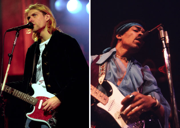 """jimi hendrix vs kurt cobain essay Free essays on life and death of jimi hendrix   kurt cobain said once, """"i'd rather be hated for who i am than loved for who i'm not""""  essay phoenix ."""