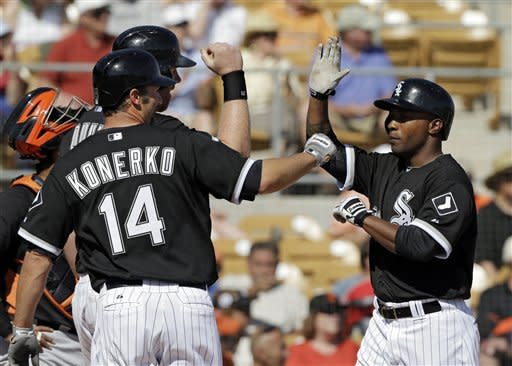 White Sox's Danks solid in 1st outing since May