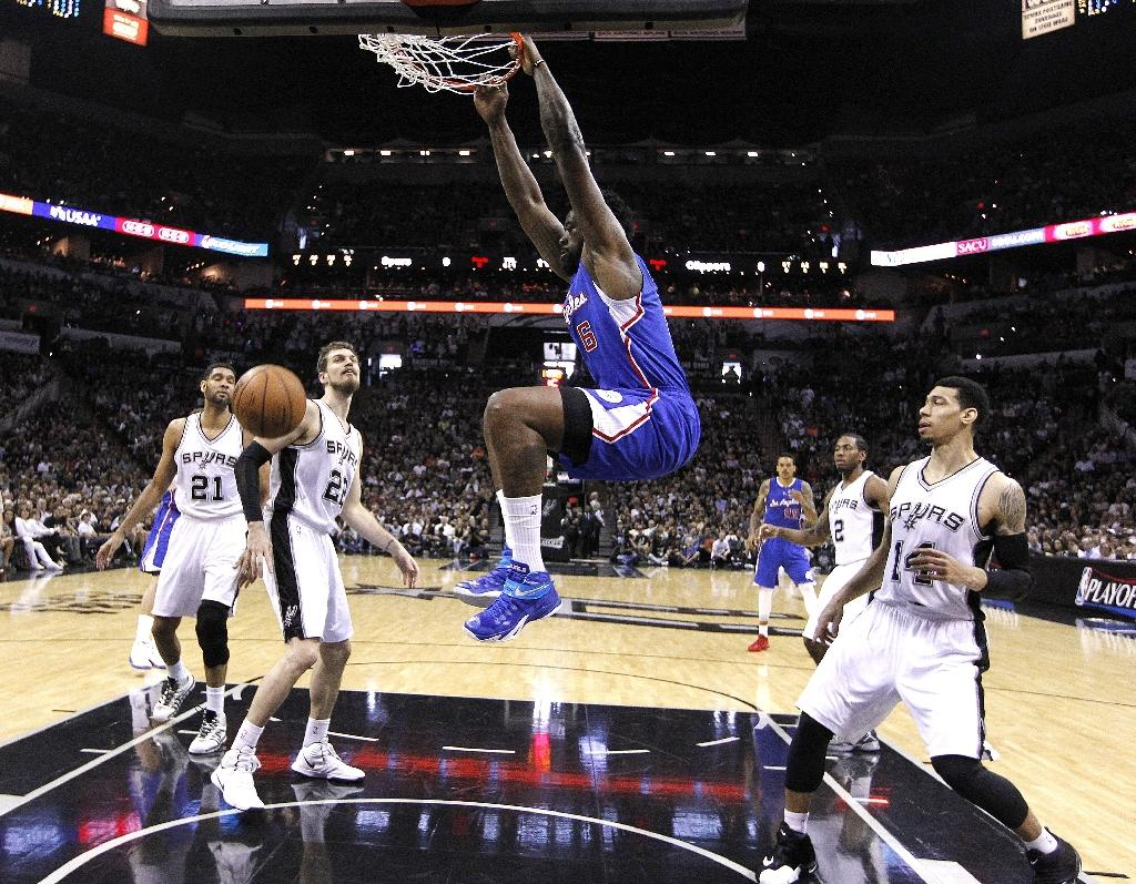 Clippers get even with Spurs