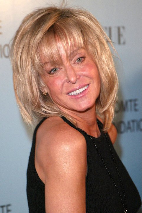 Farrah Fawcett at the Michel Comte Hosts a Gala to Benefit the Michel Comte Water Foundation at the Ace Gallery in Beverly Hills, California on February 25, 2004.