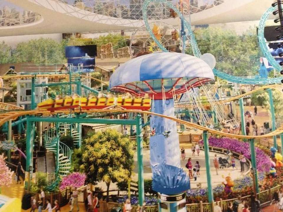 revenge of the megaprojects: The Country's Largest Mall Could Be Coming to Miami