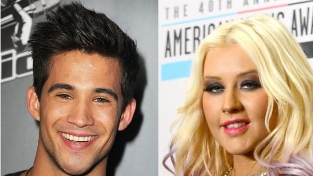 Dez Duron, Christina Aguilera -- Getty Images