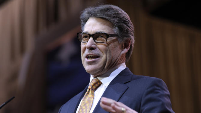 Texas Gov. Rick Perry speaks at the Conservative PAC