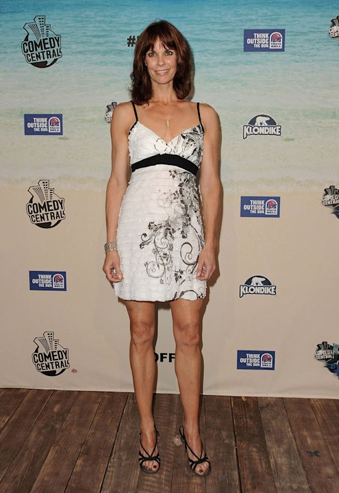 Alexandra Paul arrives at the &quot;Comedy Central Roast Of David Hasselhoff&quot; held at Sony Pictures Studios on August 1, 2010 in Culver City, California. 