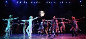 Singers and dancers perform in 'Cats' during a photo opportunity in Vienna