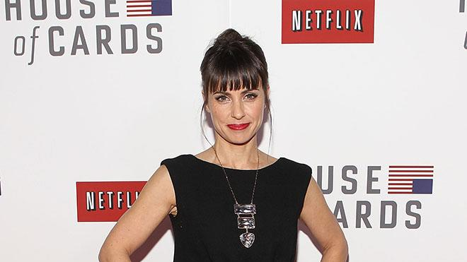 "Netflix's ""House Of Cards"" Washington DC Screening: Constance Zimmer"